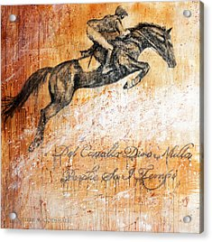Cavallo Contemporary Horse Art Acrylic Print