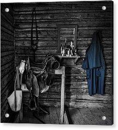 Cavalry Bunkhouse Acrylic Print