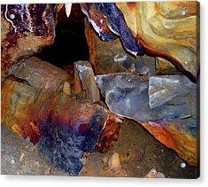 Cave Gems Acrylic Print