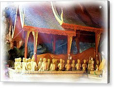 Cave Of The Bat Temple 2 Acrylic Print