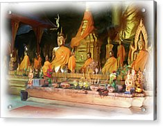 Cave Of The Bat Temple 4 Acrylic Print