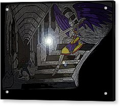 Cave Of The Dead Acrylic Print by Gary Eakin