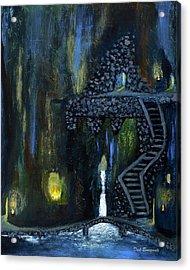 Cave Of Thrones Acrylic Print