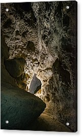 Acrylic Print featuring the photograph Cave Path by Alexander Kunz