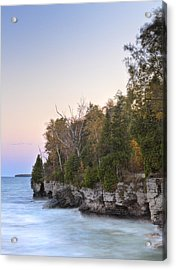 Cave Point  Acrylic Print by Richard Steinberger