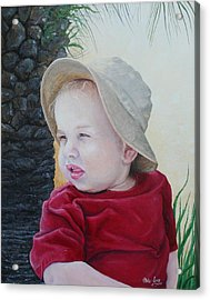 Cayden Acrylic Print by Mike Ivey