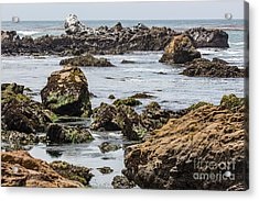 Cayucos Coast B3920 Acrylic Print by Stephen Parker