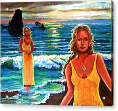 Cd Cover  The Painter Acrylic Print by Sandra Longmore