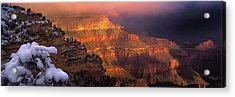 Canyon Dawn Acrylic Print by Mikes Nature