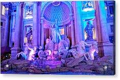 Ceasars Palace Forum Shops Acrylic Print