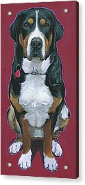 Cece Acrylic Print by Nadi Spencer