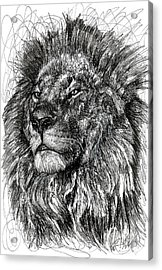 Cecil The Lion Acrylic Print