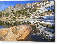 Cecret Lake Acrylic Print