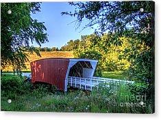 Cedar Bridge  Acrylic Print