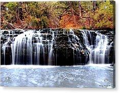 Cedar Creek Falls, Kansas Acrylic Print