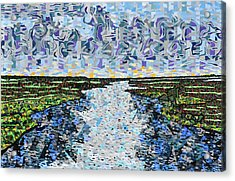 Cedar Island Acrylic Print by Micah Mullen