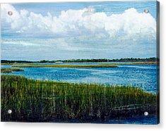 Cedar Key 2 Acrylic Print by Bob Senesac