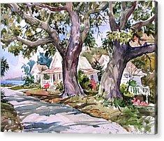 Cedar Key Survivors Acrylic Print