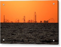Cedar Point Skyline Acrylic Print