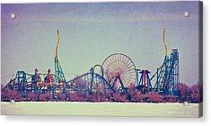 Cedar Point Skyline Acrylic Print