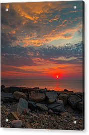 Cedar Point Sunrise Acrylic Print