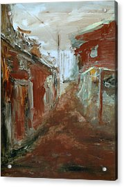 Ceder Town Acrylic Print by Rome Matikonyte