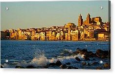 Cefalu - Sicily Acrylic Print by Sorin Ghencea