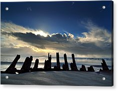 Cefn Sidan Beach 5 Acrylic Print