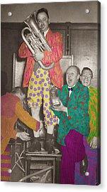 Celebrate Acrylic Print by Adam Smith