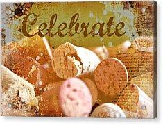 Celebrate Acrylic Print by Cathie Tyler