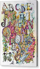 Celebrate Acrylic Print by Claudia Cole Meek