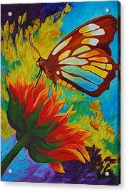 Celebrate Acrylic Print by Karen Dukes