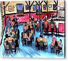Celebrate Acrylic Print by Shaina Stinard