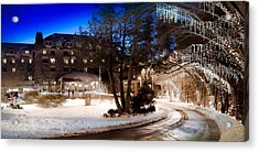 Celebrate The Winter Night Acrylic Print