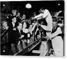Celebrating The End Of Prohibition Acrylic Print by American School
