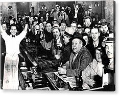 Celebrating The End Of Prohibition Acrylic Print