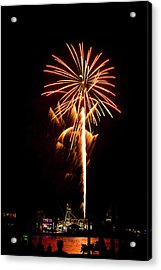Acrylic Print featuring the photograph Celebration Fireworks by Bill Barber