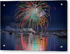 Celebration In Boothbay Harbor Acrylic Print