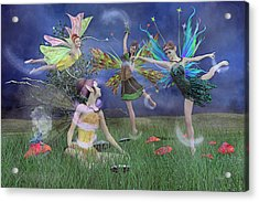 Celebration Of Night Alice And Oz Acrylic Print