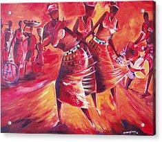 Celeration Acrylic Print by Michael Echekoba