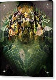 Acrylic Print featuring the digital art Celerian by Lynda Lehmann