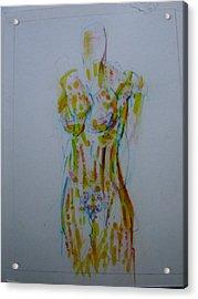 Celery Acrylic Print by Dean Corbin