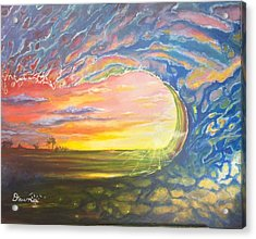Celestial Break Acrylic Print