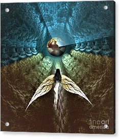 Celestial Cavern Acrylic Print