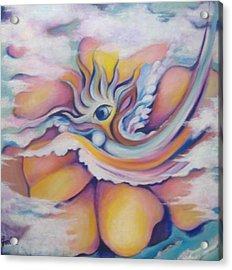 Celestial Eye Acrylic Print by Jordana Sands