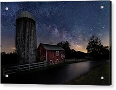 Acrylic Print featuring the photograph Celestial Farm by Bill Wakeley