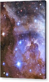 Celestial Fireworks - Hubble 25th Anniversary Image Acrylic Print by Adam Romanowicz