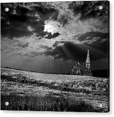 Celestial Lighting Acrylic Print by Meirion Matthias