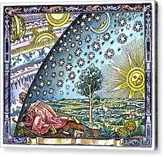 Celestial Mechanics, Medieval Artwork Acrylic Print by Detlev Van Ravenswaay