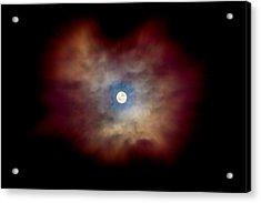 Celestial Moon Acrylic Print